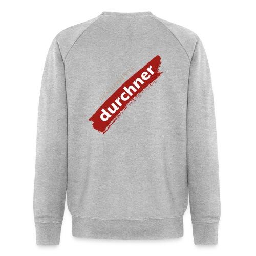 vorne oder hinten schräg - Männer Bio-Sweatshirt von Stanley & Stella