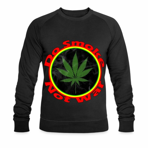 Do Smoke Not War - Männer Bio-Sweatshirt von Stanley & Stella