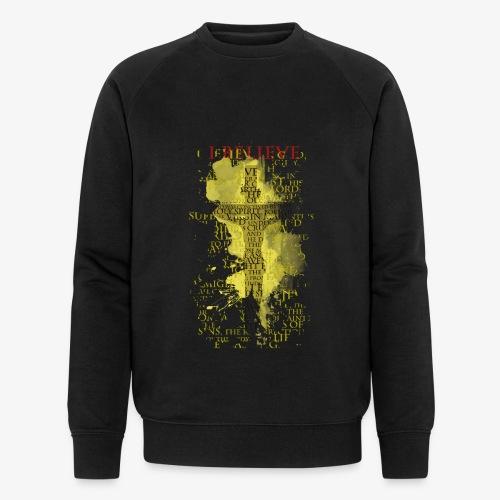 I believe / wierzę (yellow-żółty) - Ekologiczna bluza męska Stanley & Stella