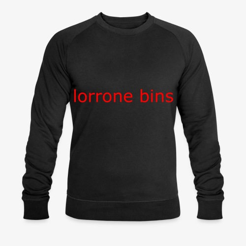 lorrone bins simple - Men's Organic Sweatshirt by Stanley & Stella