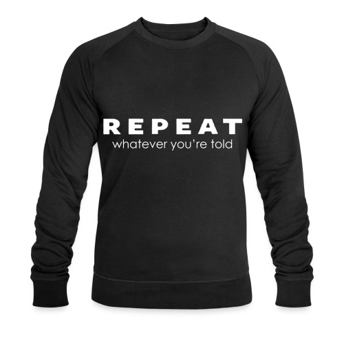 Repeat Jumper - Men's Organic Sweatshirt by Stanley & Stella