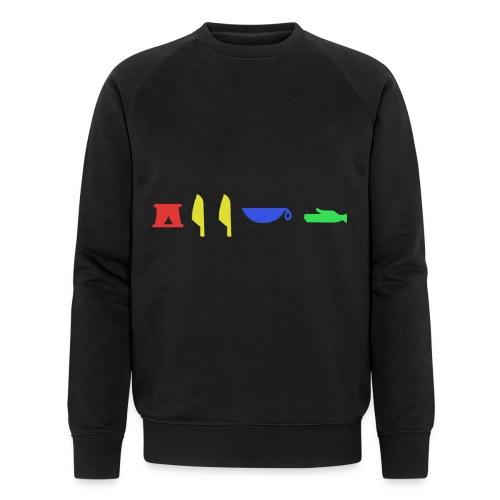 RARE GEEKD HIEROGLYPHIC LOGO - Männer Bio-Sweatshirt von Stanley & Stella