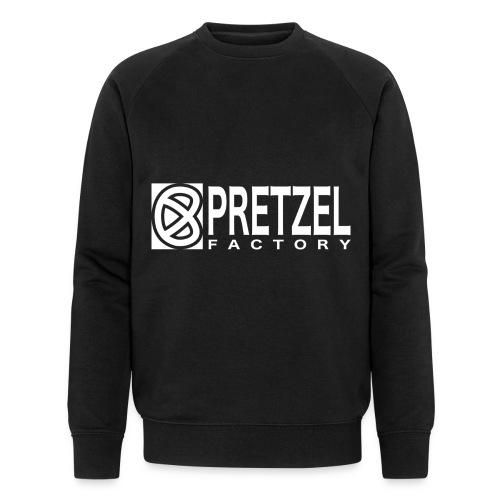 Pretzel Factory Logo Blanc - Sweat-shirt bio Stanley & Stella Homme