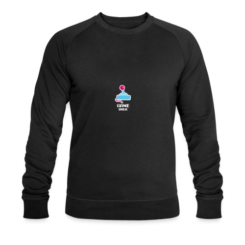 GameoverLogotekst - Mannen bio sweatshirt van Stanley & Stella