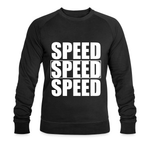 SPEED Mens MOTORSPORT Hoodie and Tee - Men's Organic Sweatshirt by Stanley & Stella