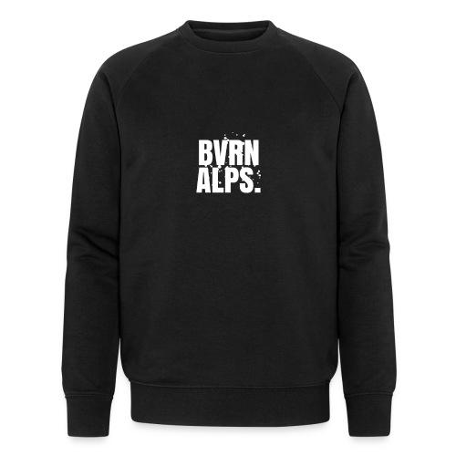 BVRN ALPS BLOCK SNOWBACKROUND WHITE Sweatshirt - Männer Bio-Sweatshirt von Stanley & Stella