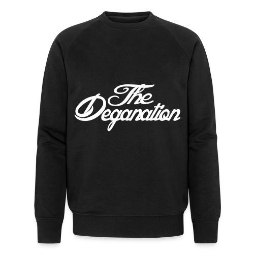 DEGANATION WHITE - Økologisk sweatshirt for menn fra Stanley & Stella