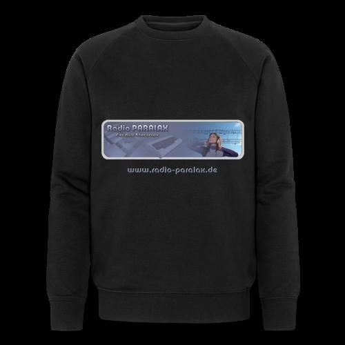 Radio PARALAX Classic-Logo mit Webadresse - Männer Bio-Sweatshirt von Stanley & Stella