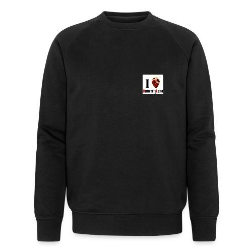 I love Butterflyland - Sweat-shirt bio Stanley & Stella Homme