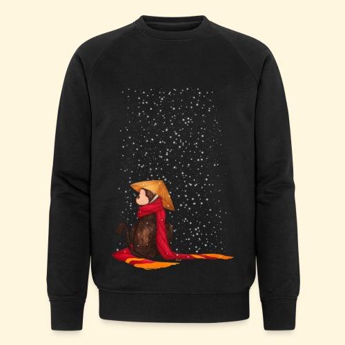 Un singe en hiver sous la neige - Sweat-shirt bio Stanley & Stella Homme