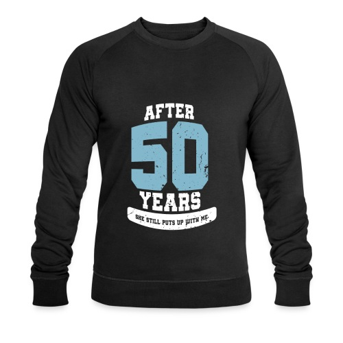 Ü50 Über 50 Jahre 50th - first - Männer Bio-Sweatshirt von Stanley & Stella