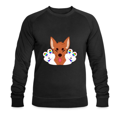 Magic's Gay Peace Fingers - Men's Organic Sweatshirt by Stanley & Stella
