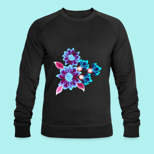 Hypnotic flowers - Sweat-shirt bio Stanley & Stella Homme