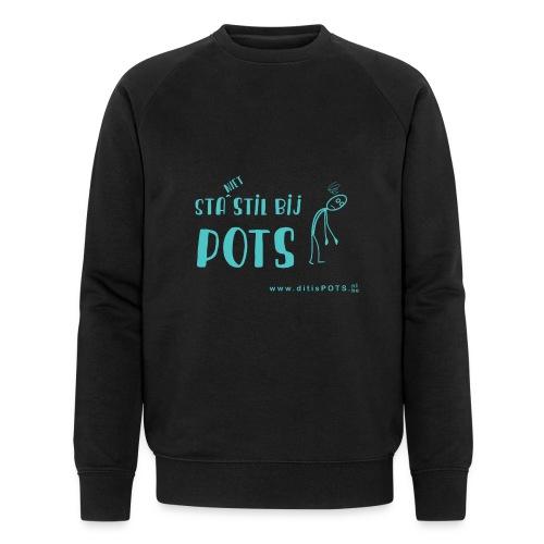 Sta (niet) stil bij POTS producten - Mannen bio sweatshirt van Stanley & Stella