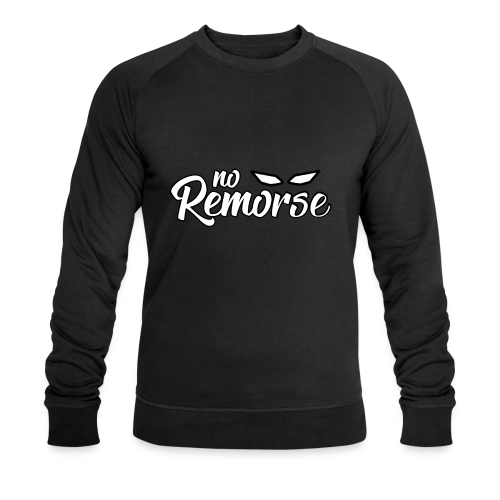 No Remorse Title With Eyes - Men's Organic Sweatshirt by Stanley & Stella