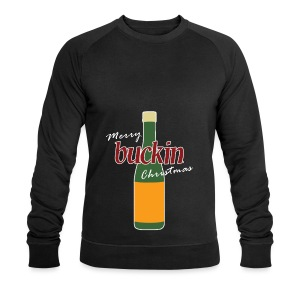 Merry Buckin Christmas 4 - Men's Organic Sweatshirt by Stanley & Stella