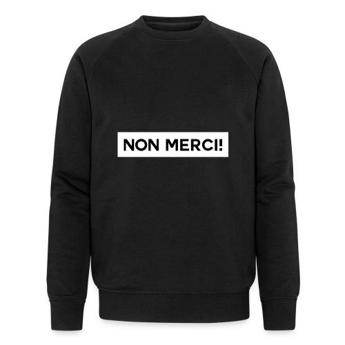 BASIC2 APPAREL BLACK EDITION - UNISEX / NON MERCI! - Sweat-shirt bio Stanley & Stella Homme