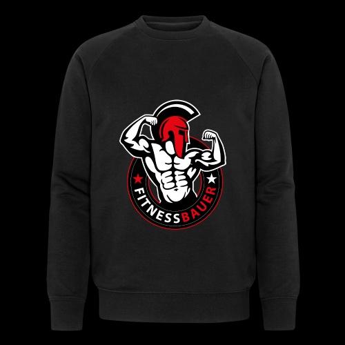 FitnessBauer in Rot - Männer Bio-Sweatshirt von Stanley & Stella