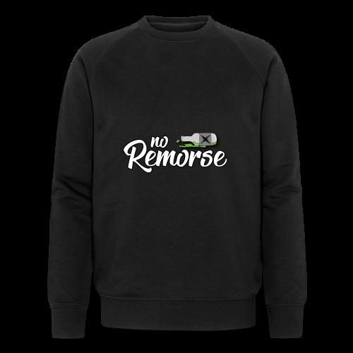No Remorse Title And Bottle - Men's Organic Sweatshirt by Stanley & Stella