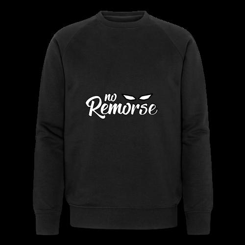 No Remorse Title With Eyes - Men's Organic Sweatshirt by Stanley & Stella