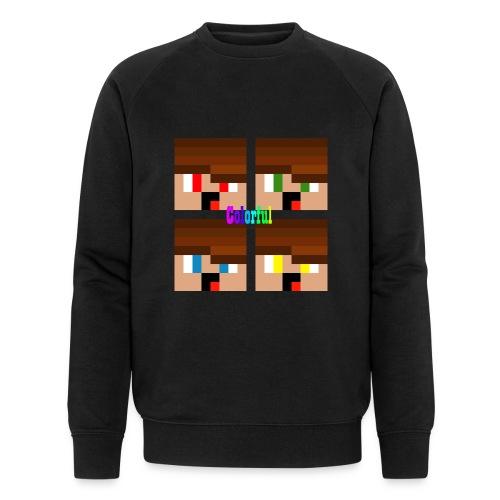Colorful Merch - Männer Bio-Sweatshirt von Stanley & Stella