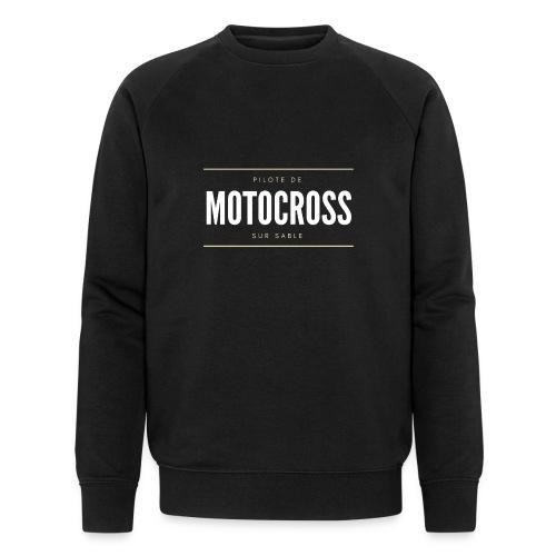 Pilote de Motocross sur sable - Sweat-shirt bio Stanley & Stella Homme