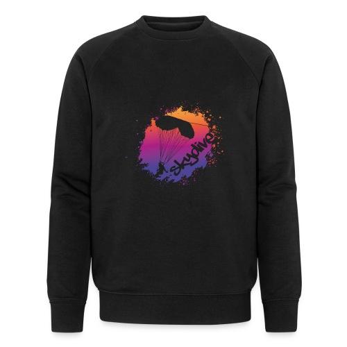 Skydive Watercolor - Männer Bio-Sweatshirt von Stanley & Stella