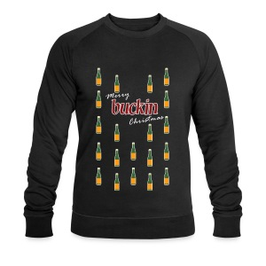 Merry Buckin Christmas 1 - Men's Organic Sweatshirt by Stanley & Stella