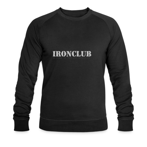 IRONCLUB - a way of life for everyone - Økologisk sweatshirt for menn fra Stanley & Stella