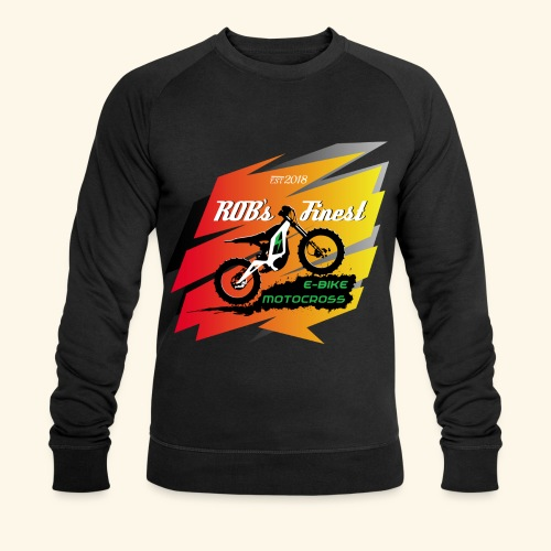 Rob Logo67 - Männer Bio-Sweatshirt von Stanley & Stella