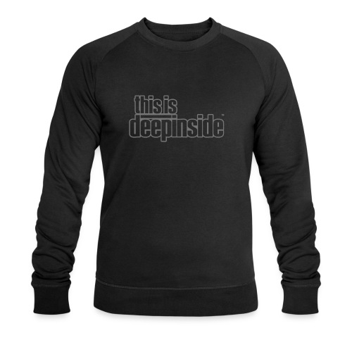 This is DEEPINSIDE logo gray - Men's Organic Sweatshirt by Stanley & Stella