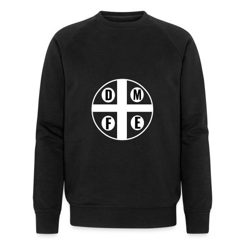 Limited DMFE logo - Männer Bio-Sweatshirt von Stanley & Stella