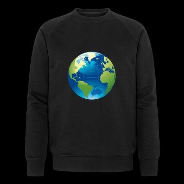motyw Ziemi jako pomysł na prezent - Ekologiczna bluza męska Stanley & Stella