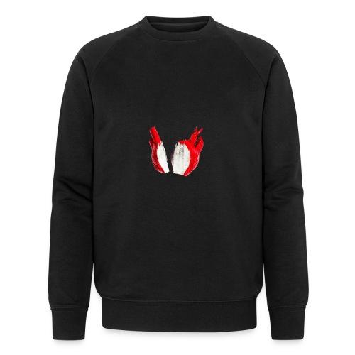 herz - heart - Männer Bio-Sweatshirt von Stanley & Stella