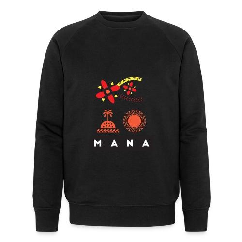 Mana Surf Sun Sea Flowers and Love by Te-Moana - Männer Bio-Sweatshirt von Stanley & Stella