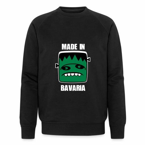 Fonster weiß made in Bavaria - Männer Bio-Sweatshirt von Stanley & Stella