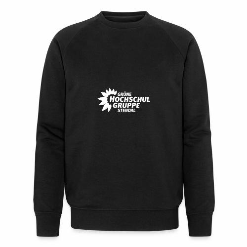 GHG Stendal Logo weiss - Männer Bio-Sweatshirt von Stanley & Stella