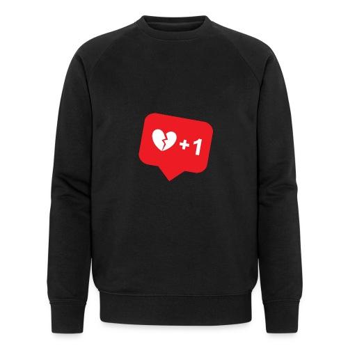 Broken Heart + 1 - Männer Bio-Sweatshirt von Stanley & Stella