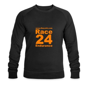 Race24 Logo in Orange - Men's Organic Sweatshirt by Stanley & Stella