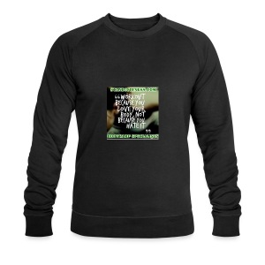 love your body - Men's Organic Sweatshirt by Stanley & Stella