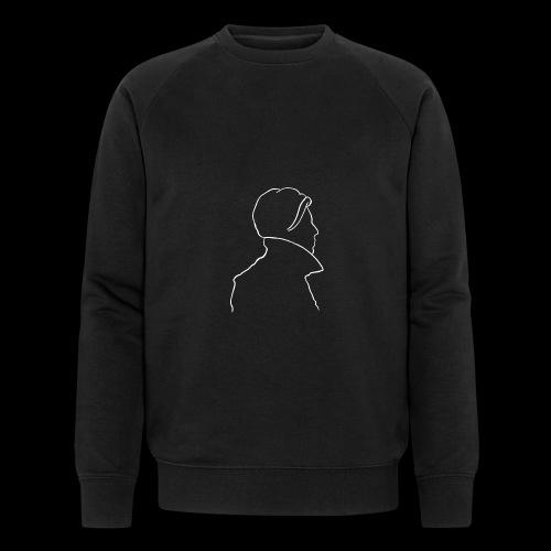 David Bowie Low (white) - Men's Organic Sweatshirt by Stanley & Stella