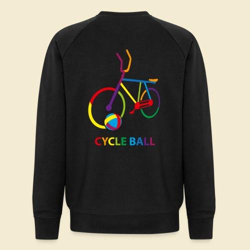 Radball | Cycle Ball Rainbow - Männer Bio-Sweatshirt von Stanley & Stella