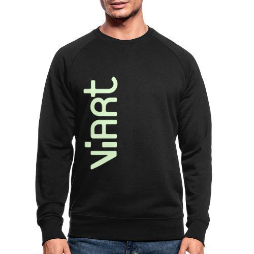 ViArt Logo - Männer Bio-Sweatshirt