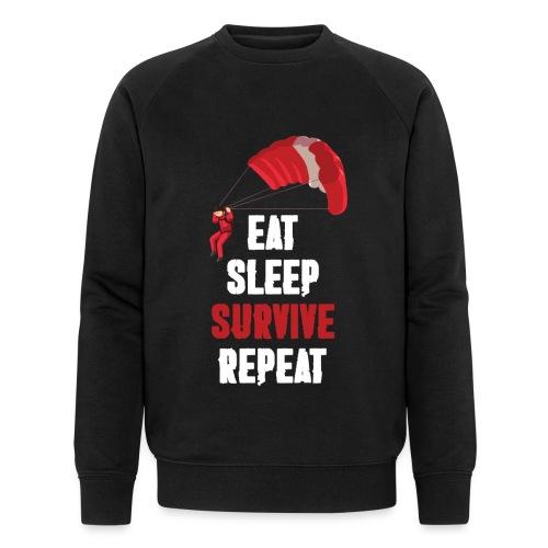 Eat - sleep - SURVIVE - repeat! - Ekologiczna bluza męska Stanley & Stella
