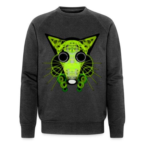 strange head of a rat in punk style - Men's Organic Sweatshirt by Stanley & Stella