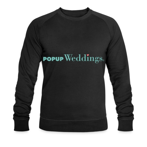 Popup Weddings - Men's Organic Sweatshirt by Stanley & Stella