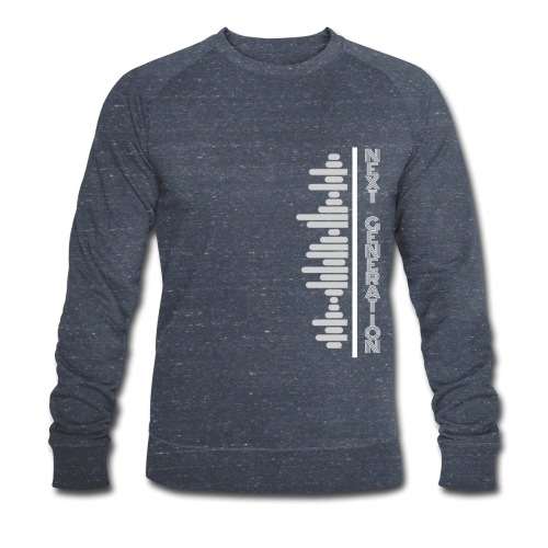 Liners logo - Men's Organic Sweatshirt