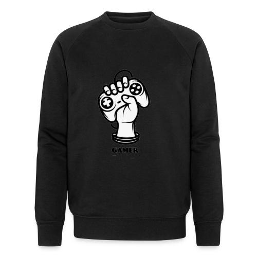 Gamer - Männer Bio-Sweatshirt