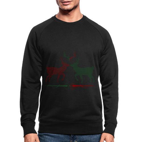 Christmas deer - Men's Organic Sweatshirt