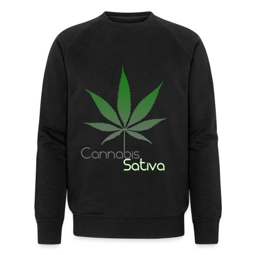 Cannabis Sativa CBD - Männer Bio-Sweatshirt